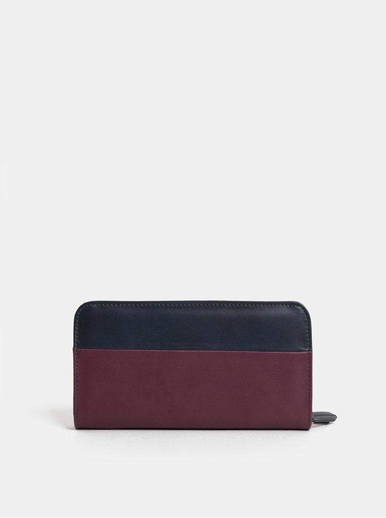 Modro-vínová velká peněženka Paul's Boutique