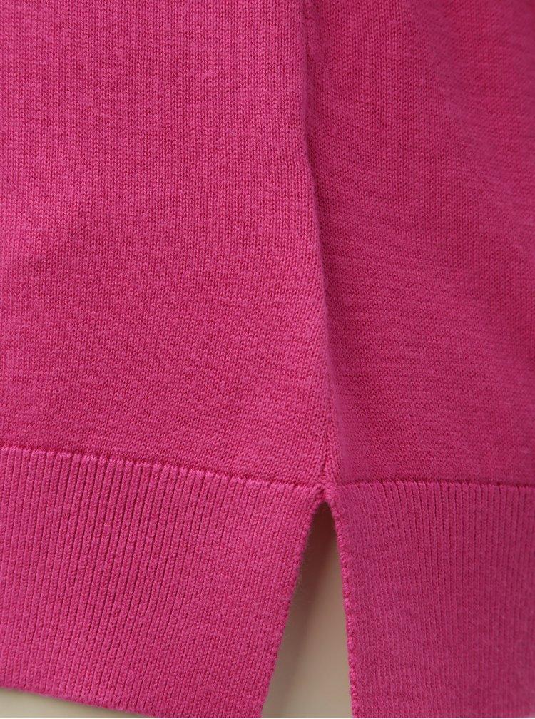 Růžový lehký svetr Nautica