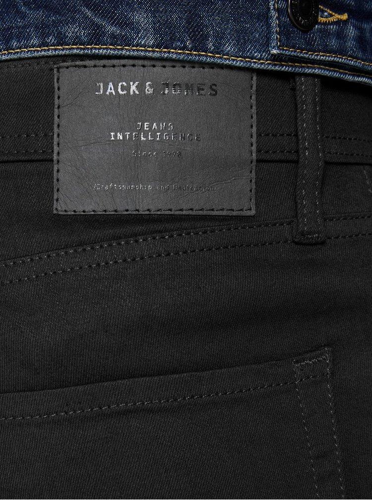 Čierne regular fit rifle Jack & Jones Mike