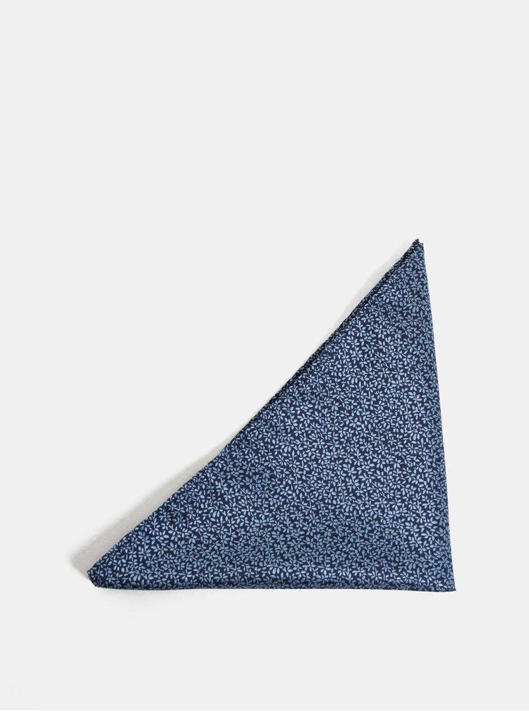 Set de cravata, papion si batista albastru inchis Jack & Jones Necktie