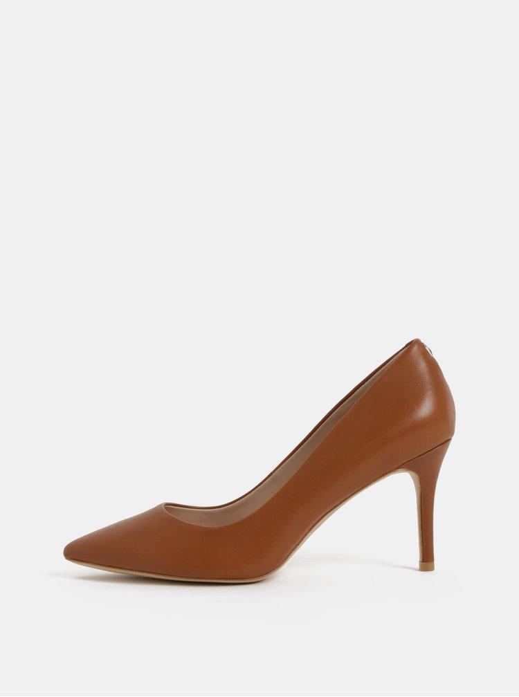 Pantofi maro din piele ALDO Coroniti
