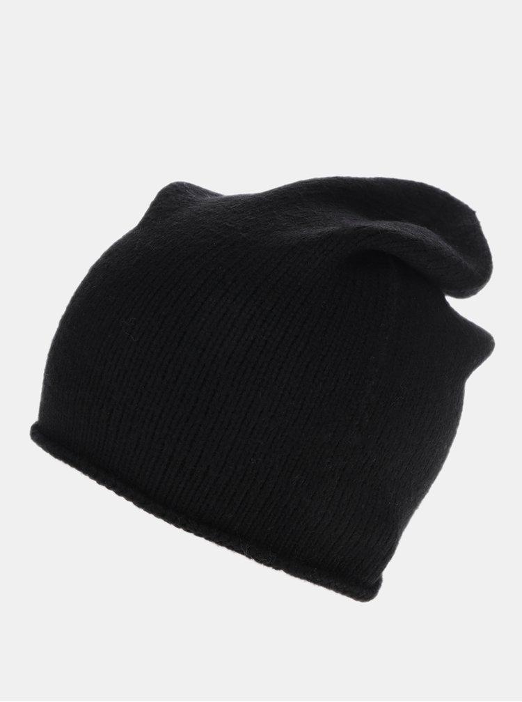 Čierna čiapka Pieces Rose