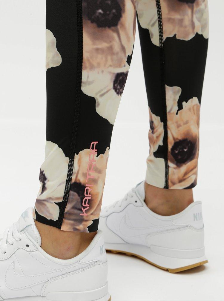 Leggings negri florali Kari Traa
