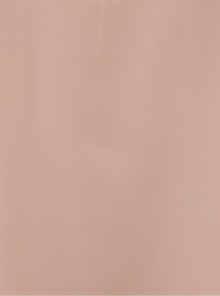 Růžová halenka bez rukávů VERO MODA Soffie