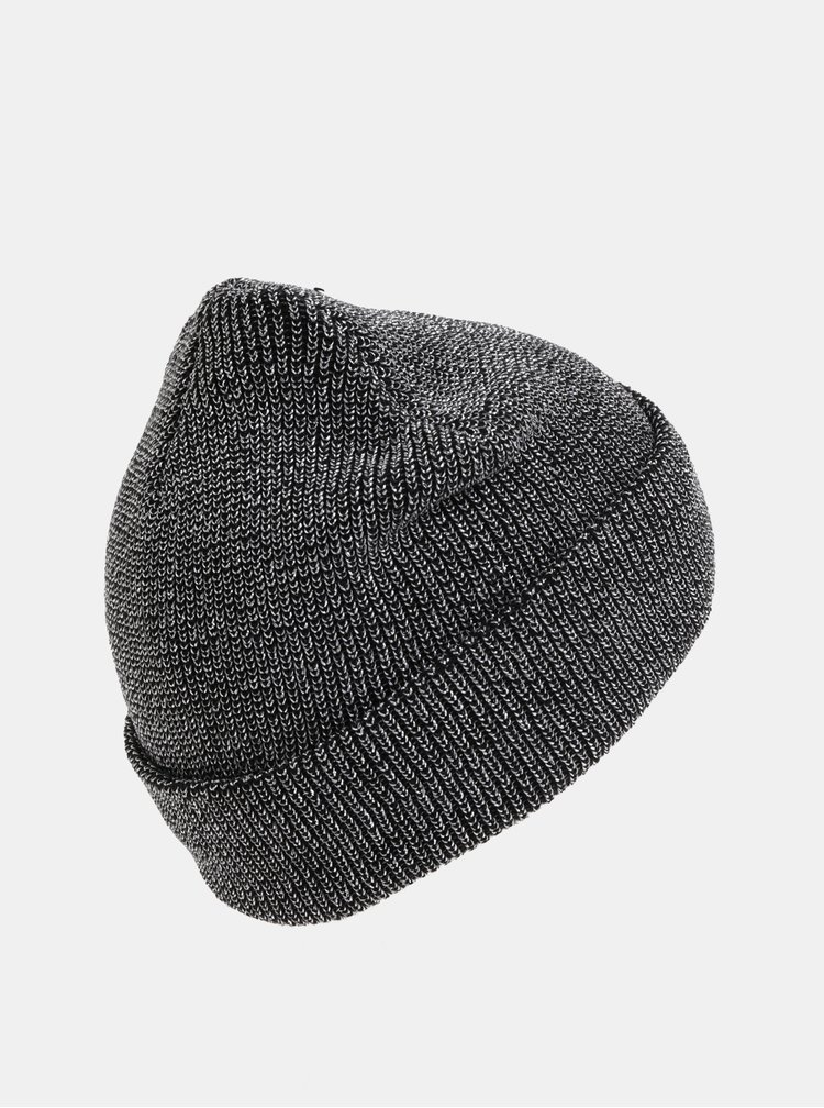 Čepice v černo-stříbrné barvě VERO MODA Glama