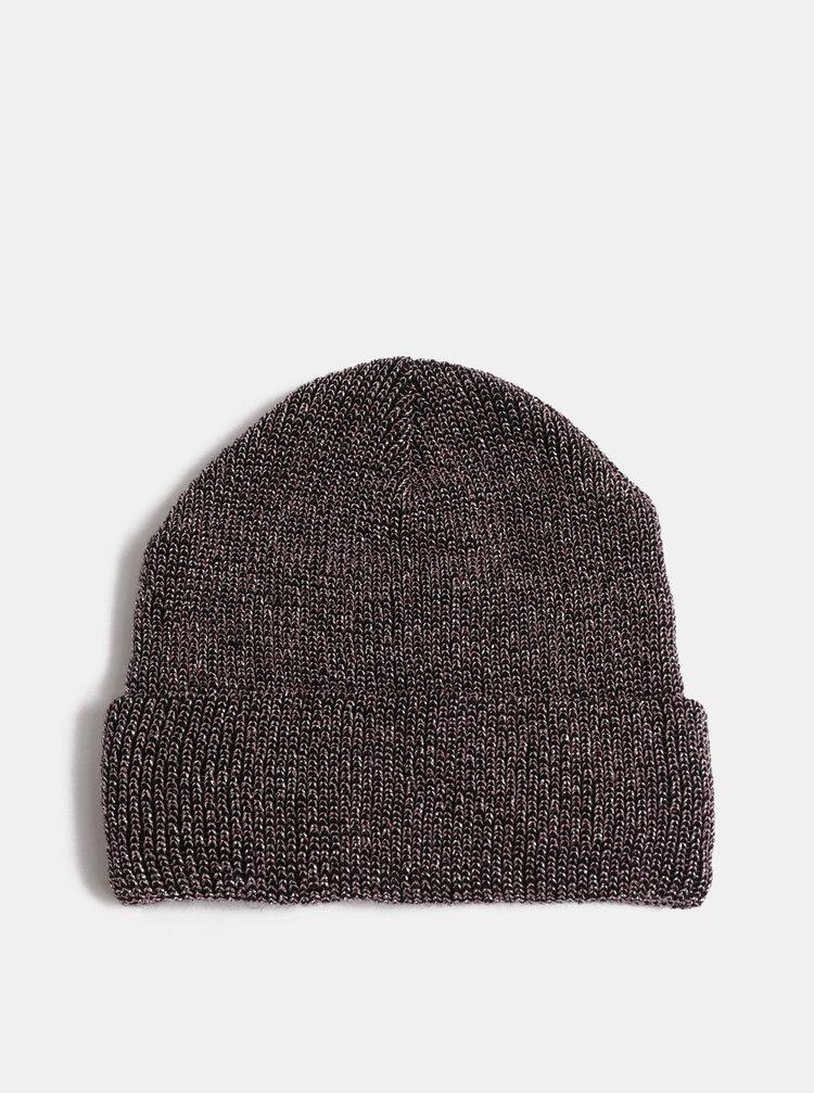 Čepice v černo-růžové barvě VERO MODA Glama