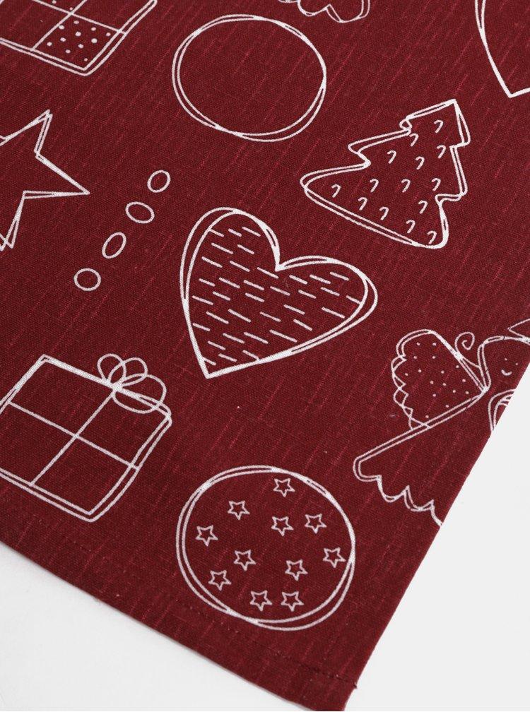 Vínová utěrka s vánočním motivem Dakls