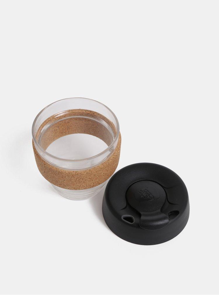 Cana neagra de calatorie din sticla KeepCup Brew small 227 ml