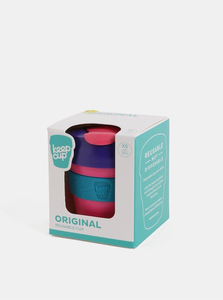 Fialovo-růžový cestovní hrnek KeepCup Original Extra Small 118 ml