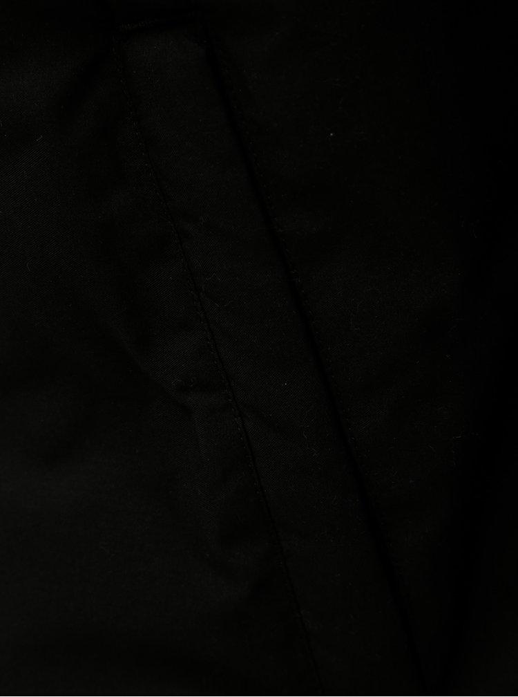 Jacheta neagra matlasata impermeabila de iarna Jack & Jones Rumple