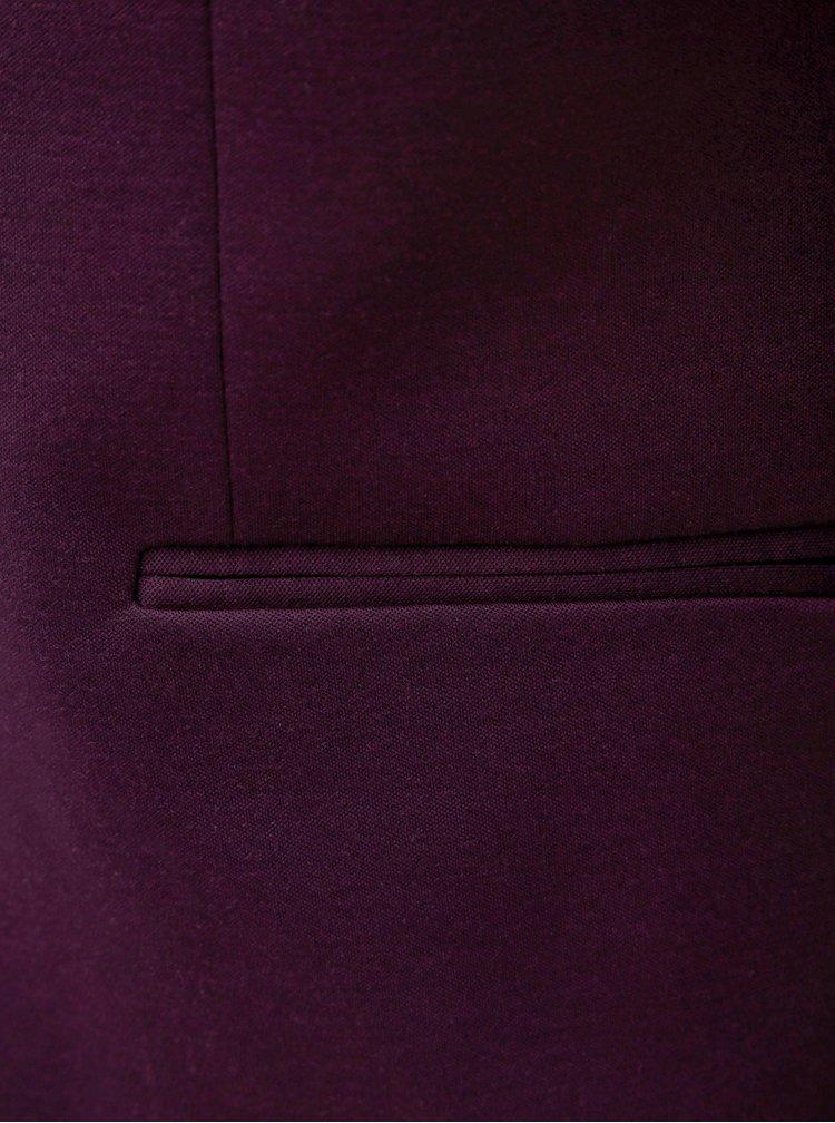 Fialové oblekové sako Jack & Jones Steven