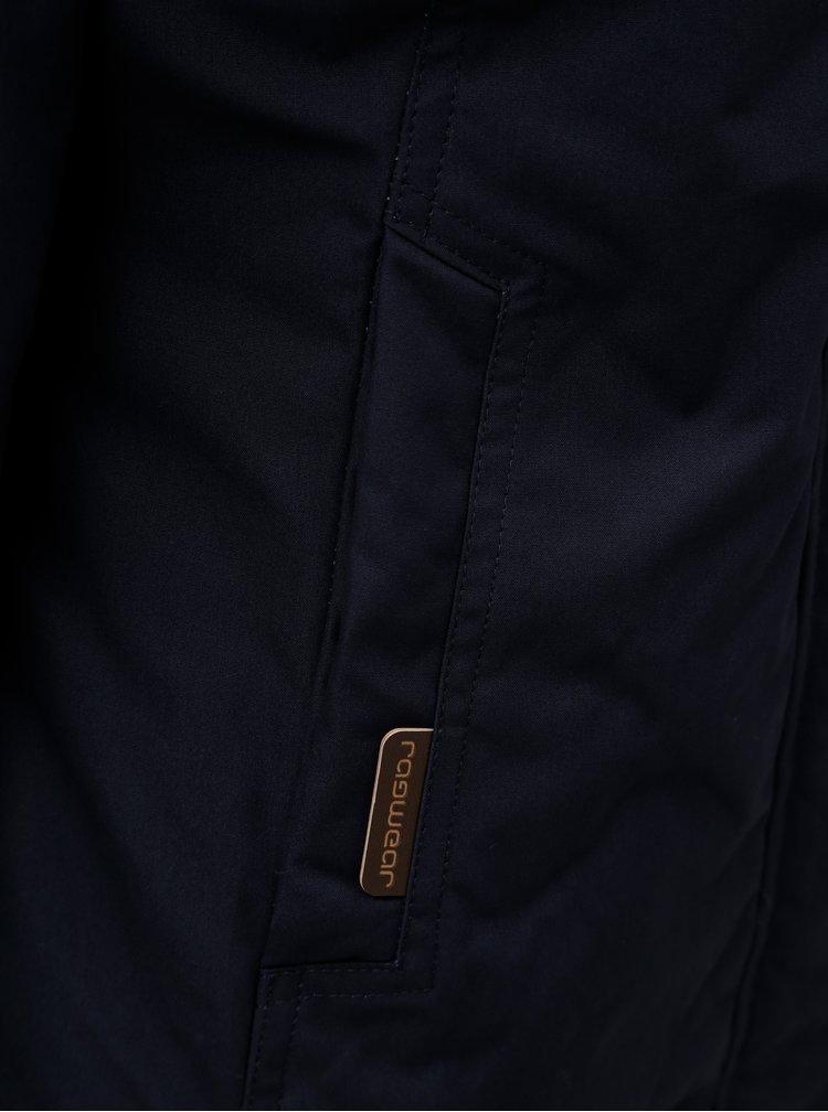Tmavě modrá dámská zimní bunda Ragwear