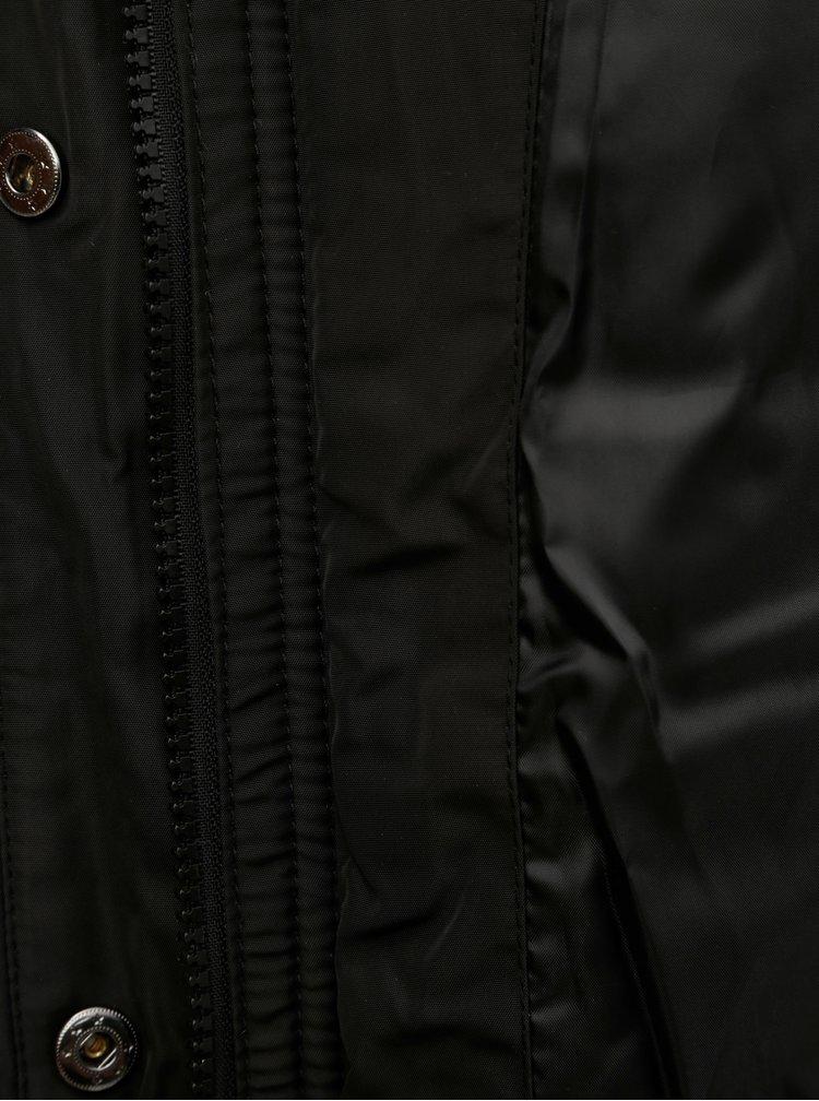 Jacheta neagra de iarna Zizzi