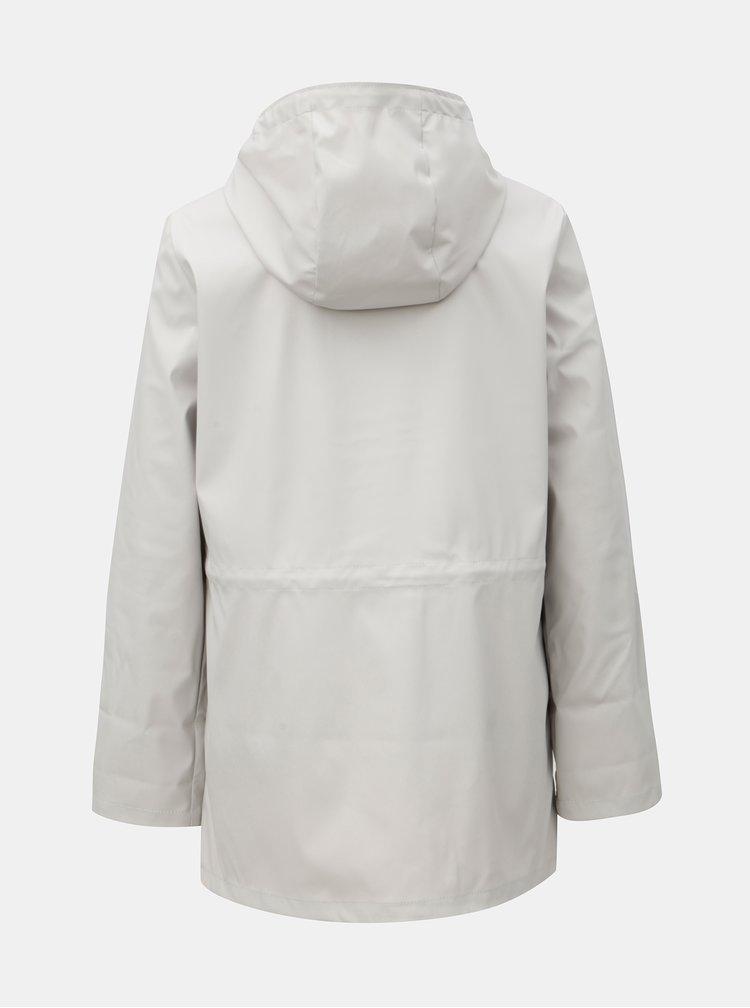 Světle šedá nepromokavá bunda s kapsami Dorothy Perkins