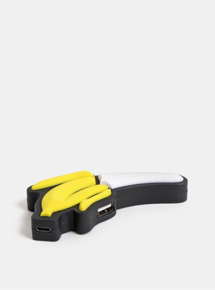 USB rozbočovač ve tvaru banánu Mustard