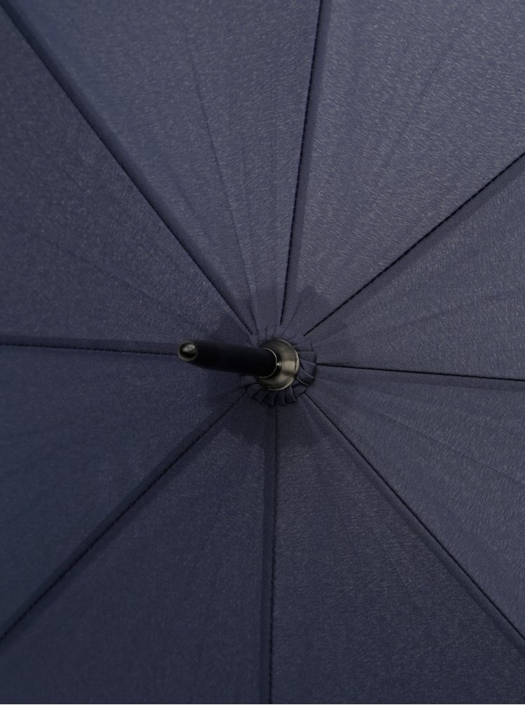 Umbrela albastru inchis automata tip baston Doppler Lang Hit