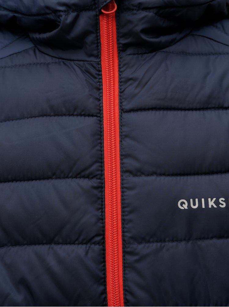 Tmavě modrá klučičí voděodolná zimní bunda Quiksilver Scaly Youth