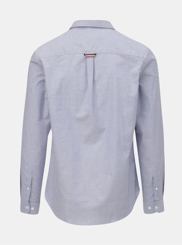 Světle modrá košile s náprsní kapsou Burton Menswear London