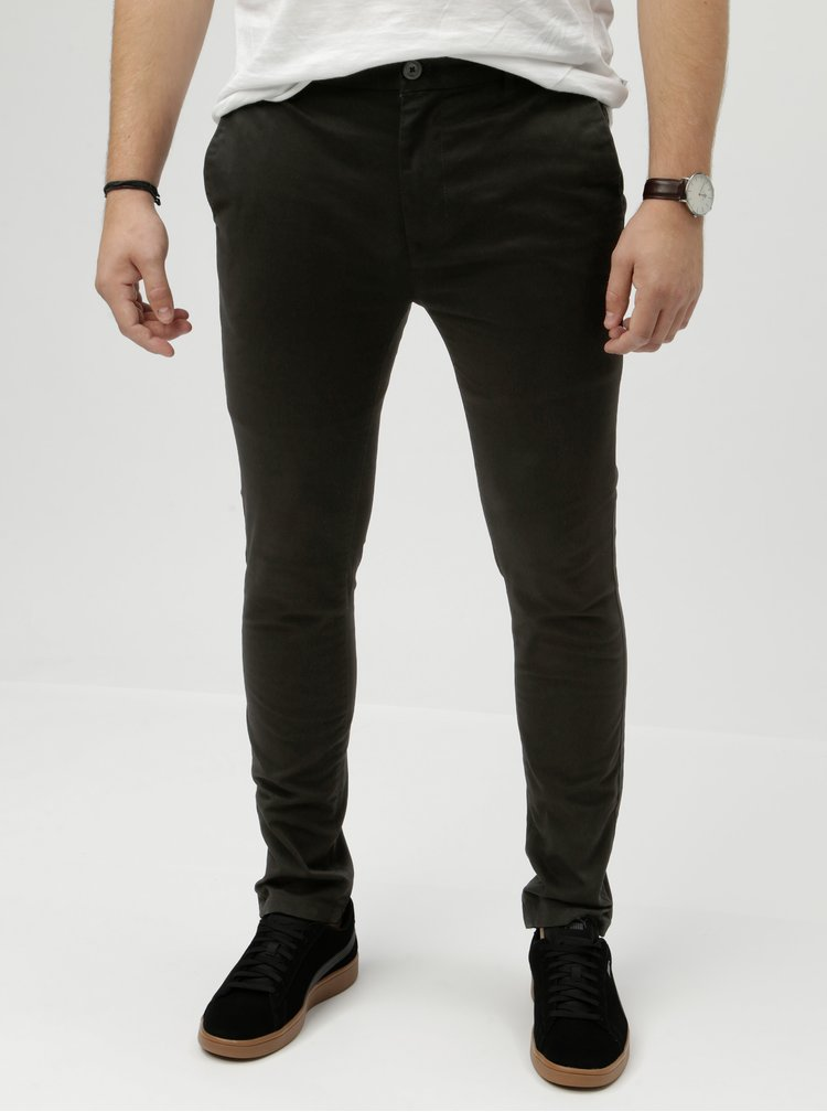Pantaloni negri super skinny Burton Menswear London