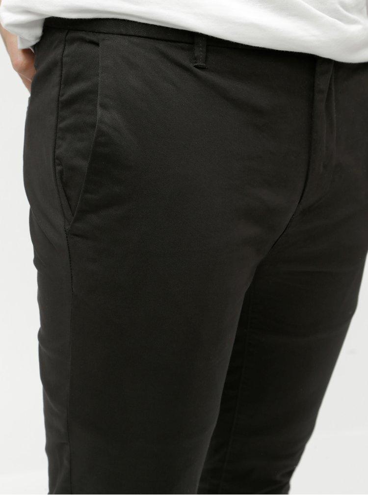 Černé super skinny chino kalhoty Burton Menswear London