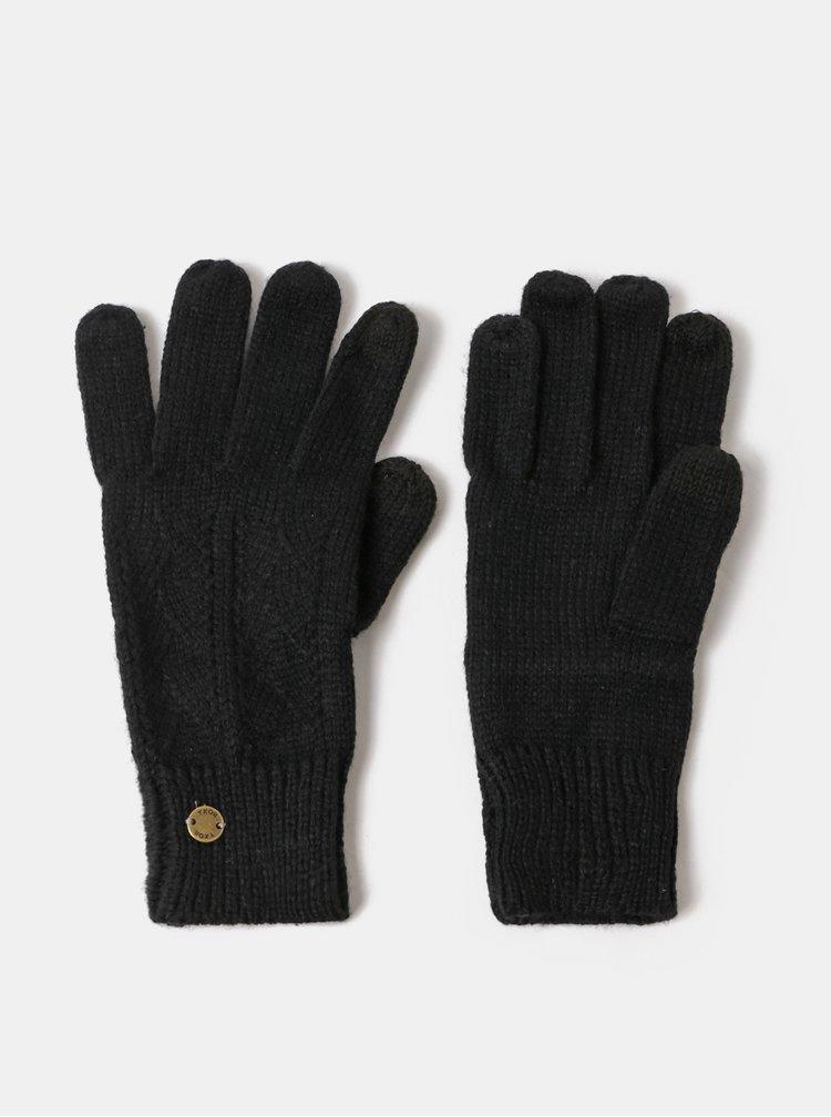 Černé dámské rukavice Roxy Poetic