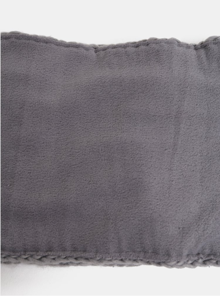 Světle šedý dámský nákrčník Roxy Winter