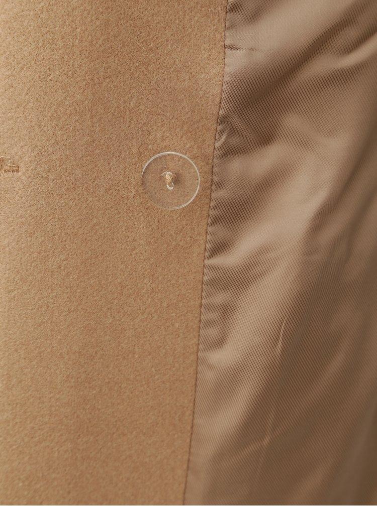 Hnědý kabát Dorothy Perkins Crombie