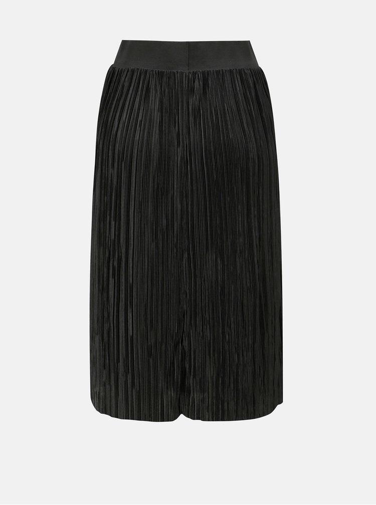 Černá plisovaná sukně Noisy May Elsa