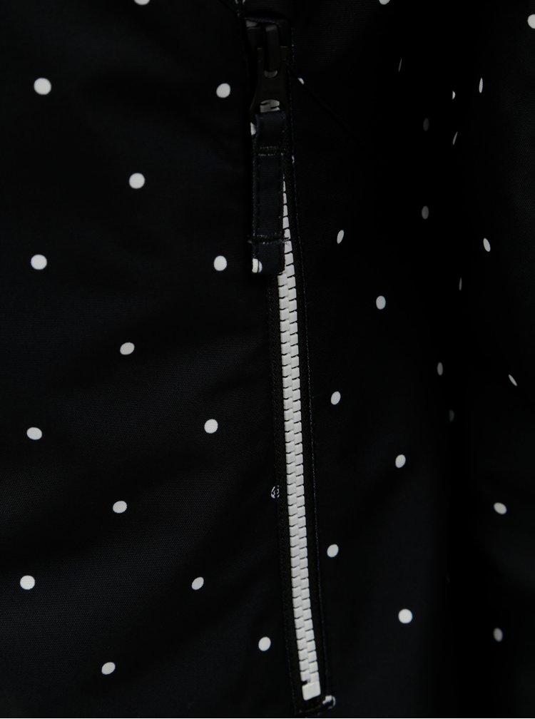 Jacheta neagra functionala de dama de iarna cu buline Horsefeathers Judy