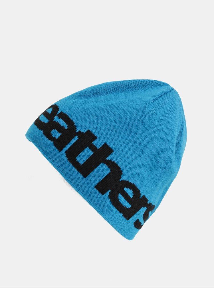 Čierno–modrá pánska obojstranná čiapka Horsefeathers Fuse