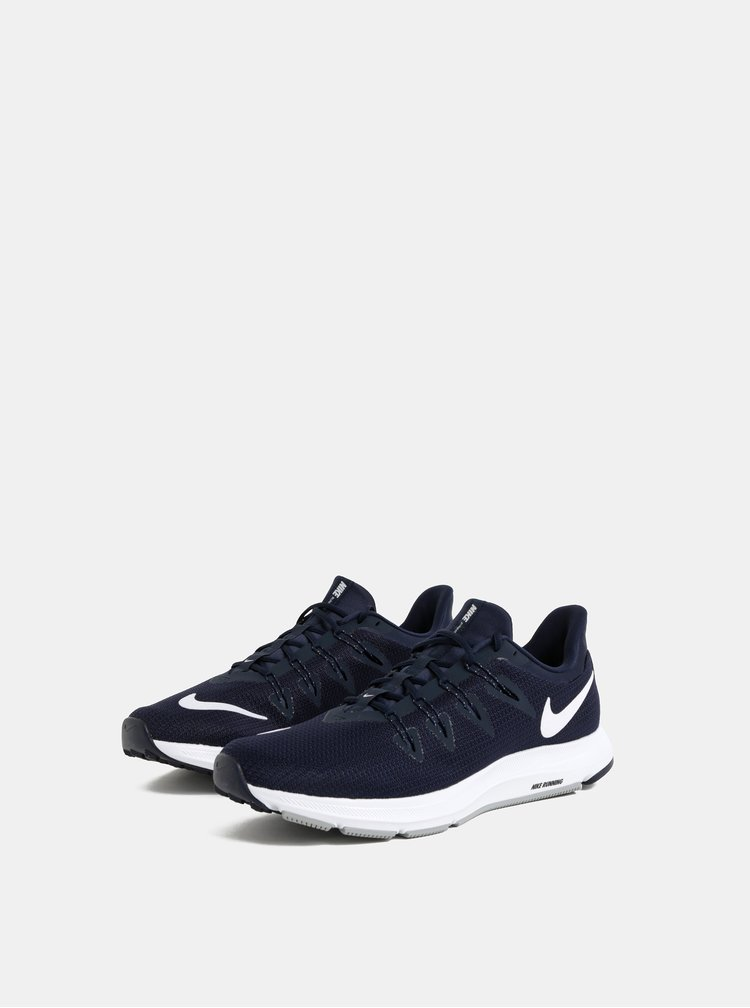 Tmavomodré pánske tenisky Nike Quest