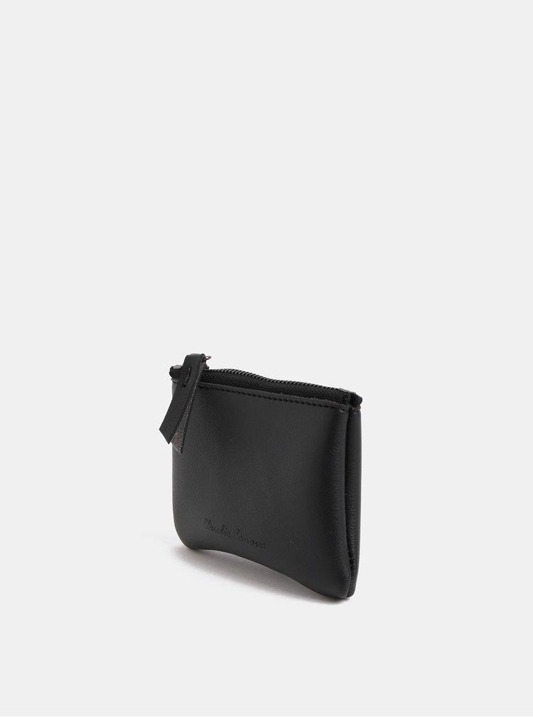 Černá malá peněženka na mince Claudia Canova Parry