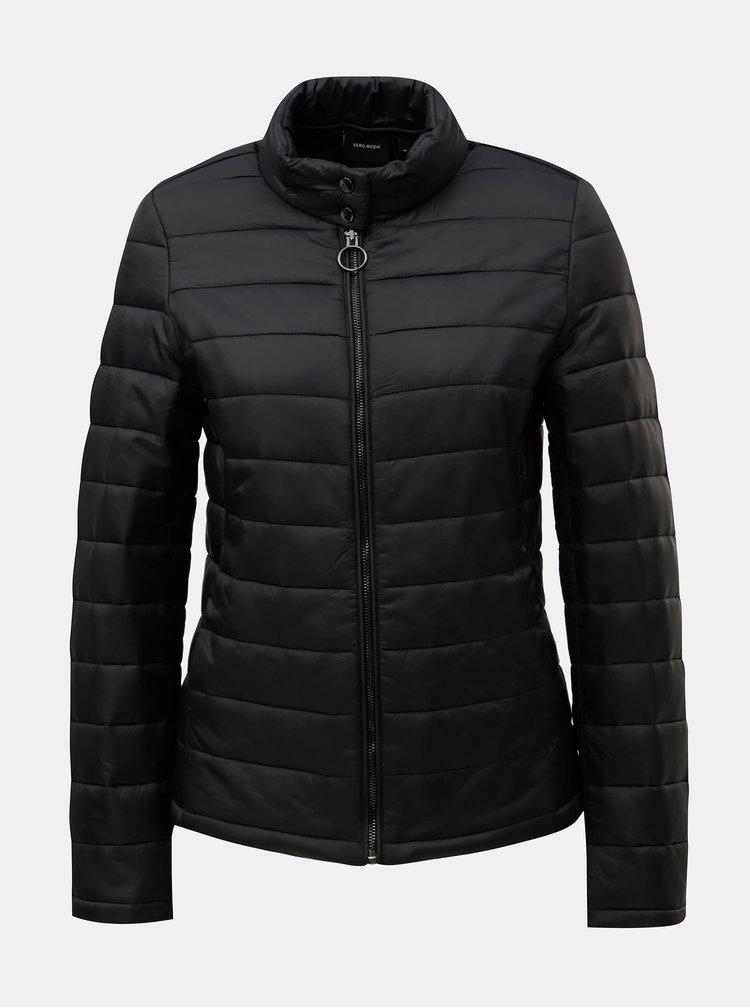 Světle šedý kabát s odnímatelnou lehkou bundou 2v1 VERO MODA Two
