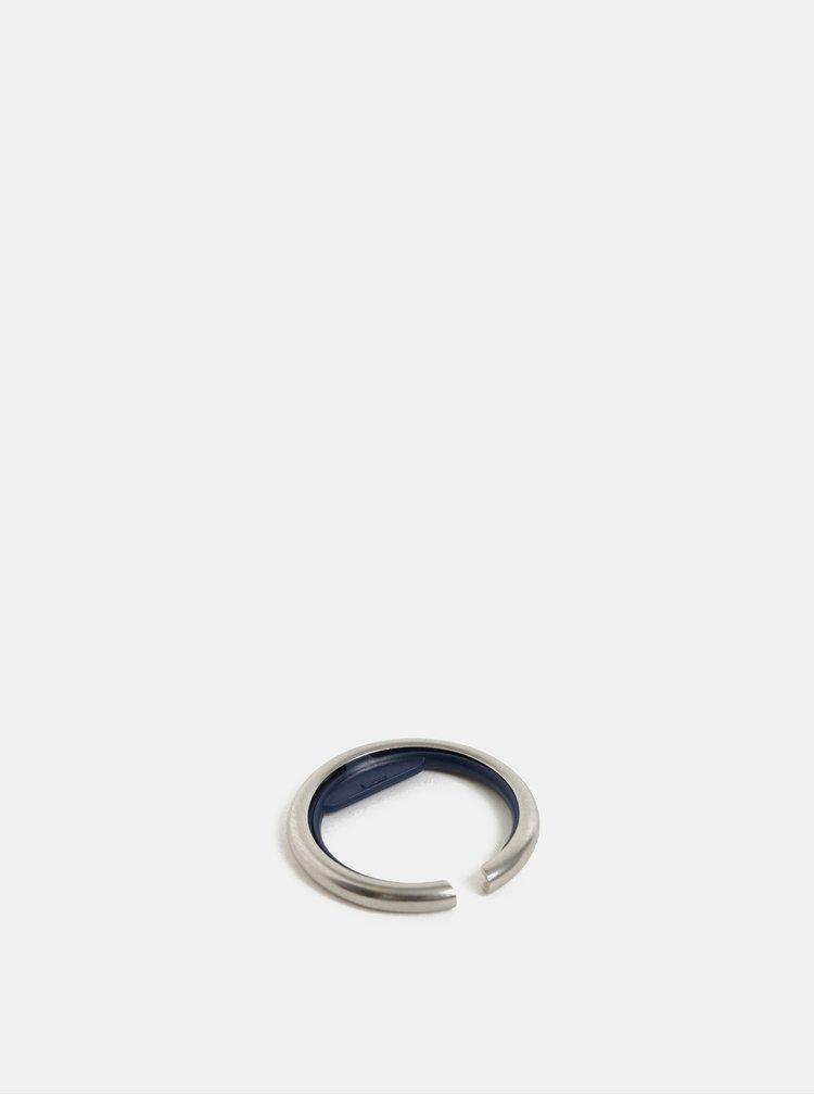 Kroužek na klíče v modro-stříbrné barvě Orbitkey