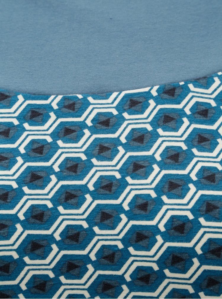 Tricou albastru cu model Tranquillo Cleo