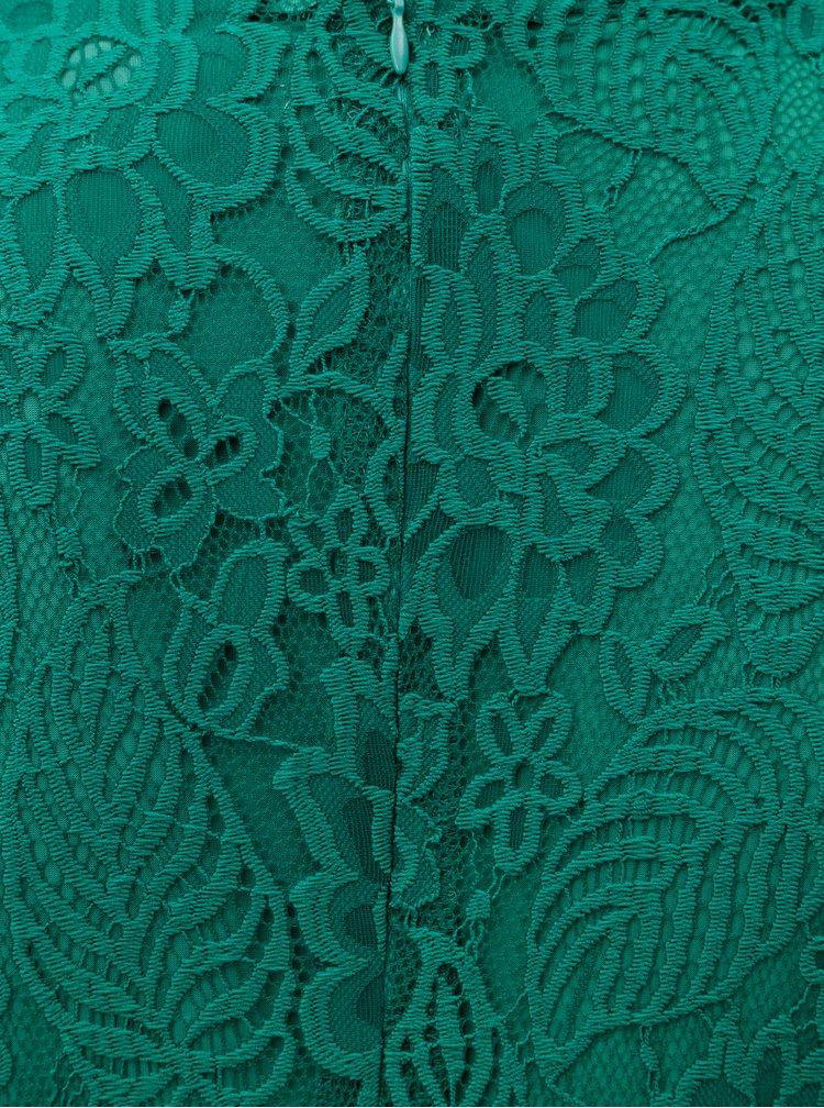 Rochie verde din dantela La Lemon