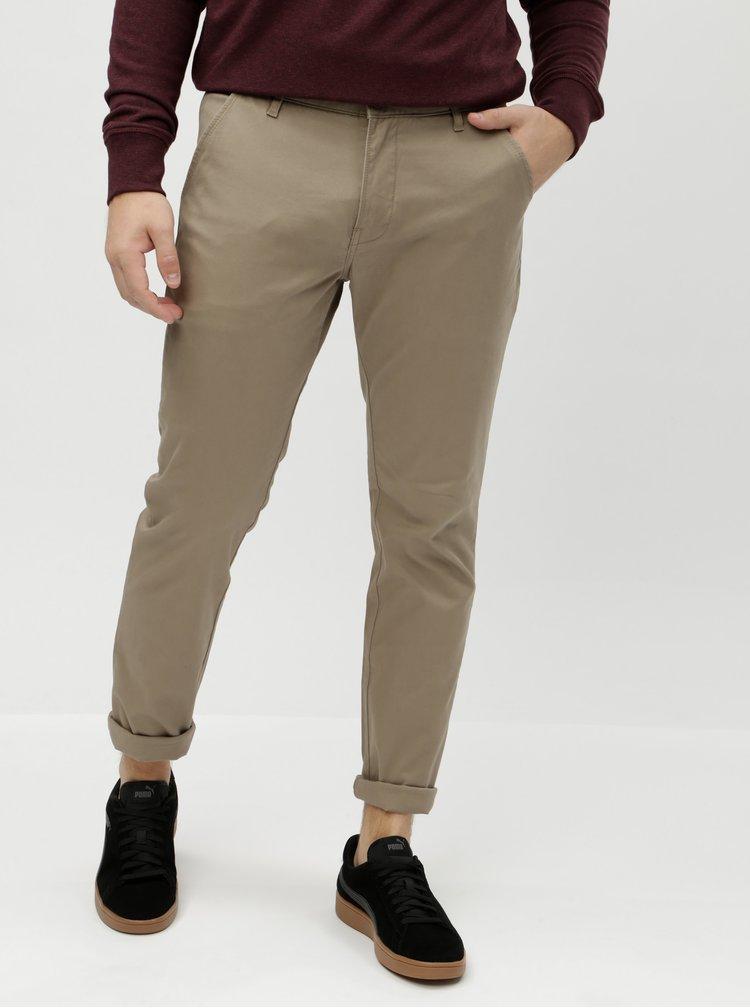 Pantaloni chino bej Lindbergh