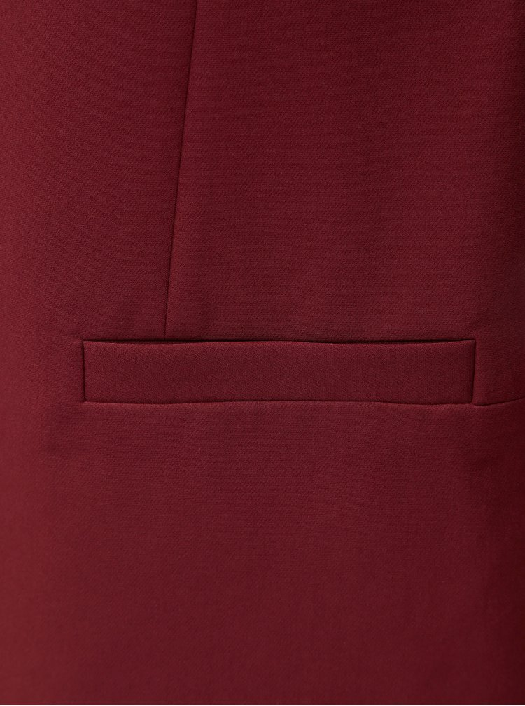 Sacou bordo formal Dorothy Perkins Claret