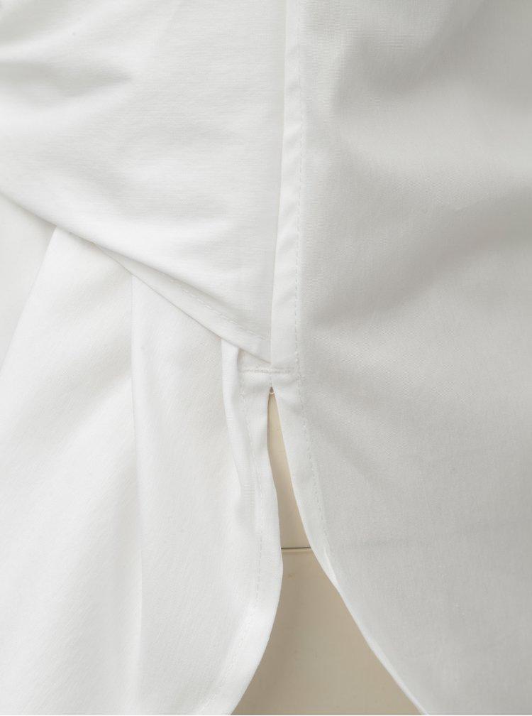 Camasa alba cu funda DKNY Mandarin Collar
