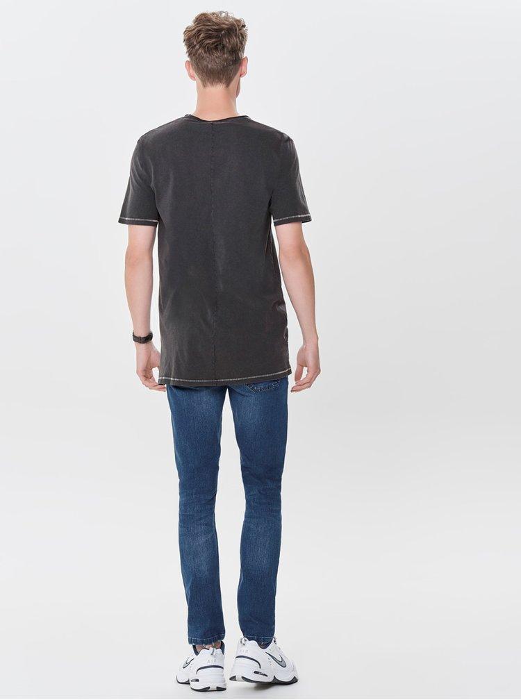 Černé basic tričko ONLY & SONS Pauli