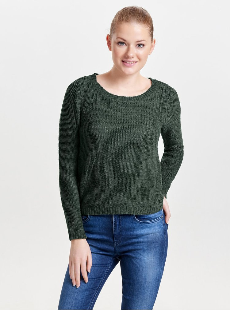 Zelený lehký svetr ONLY Geena