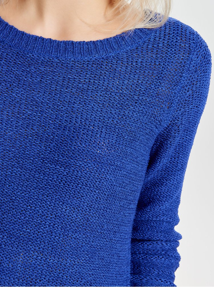Modrý pletený svetr ONLY Geena