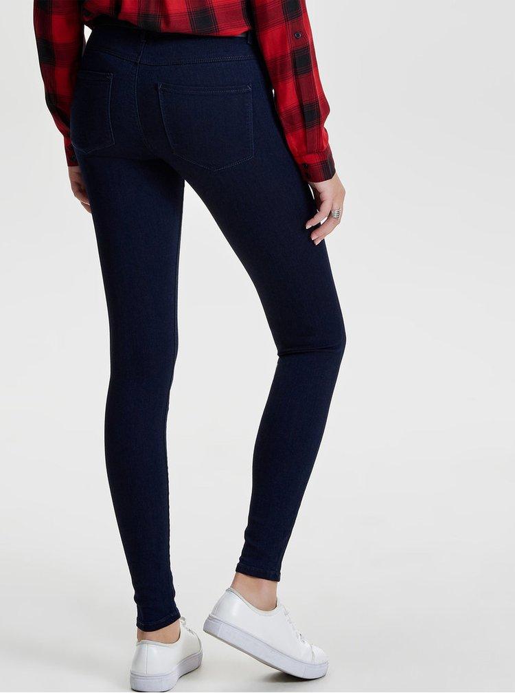 Tmavě modré skinny džíny ONLY Rain