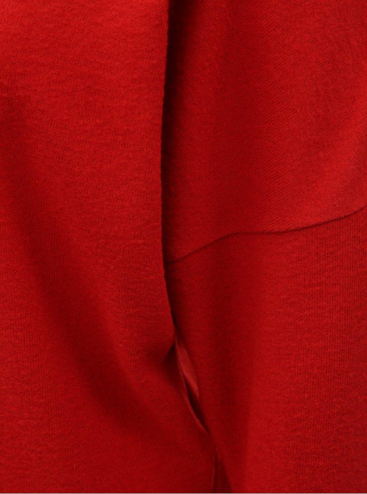 Červený lehký svetr s netopýřími rukávy Dorothy Perkins