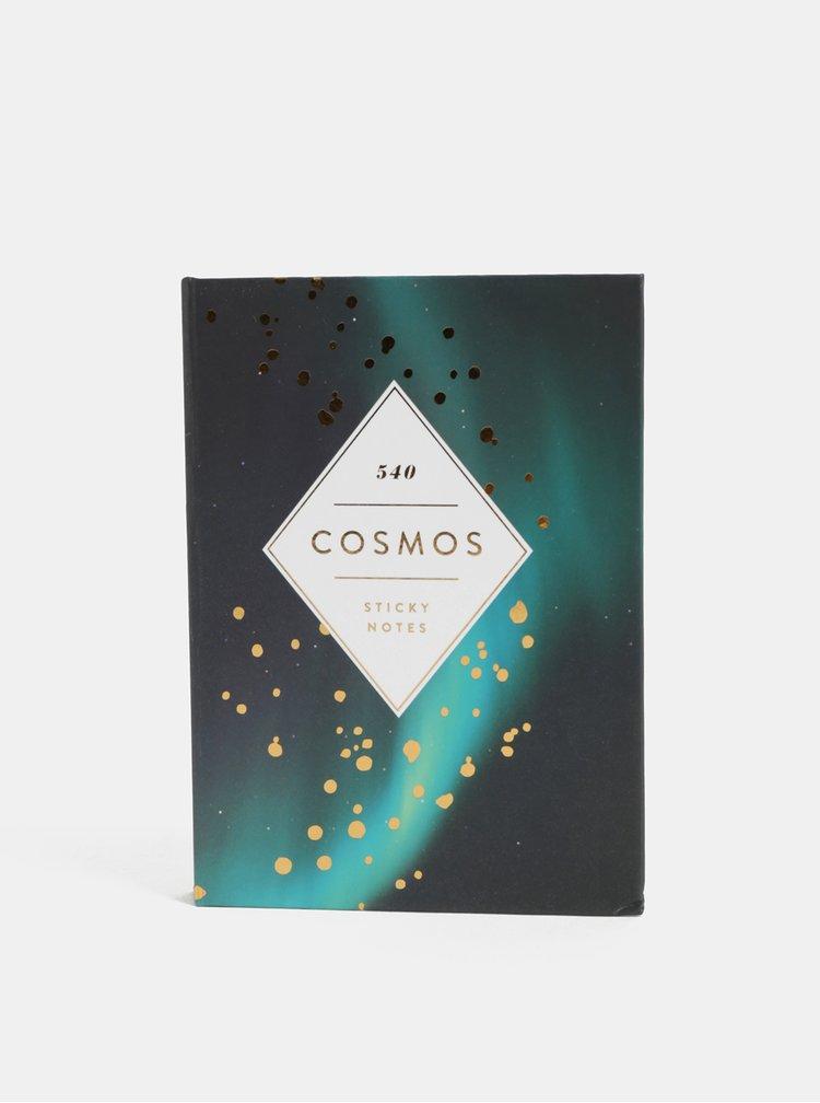 Sada devíti lepicích bločků v pevných deskách Chronicle Cosmos