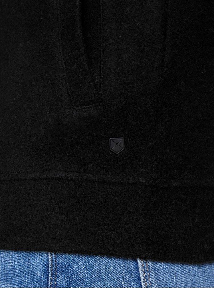 Čierna mikina na zips Jack & Jones William