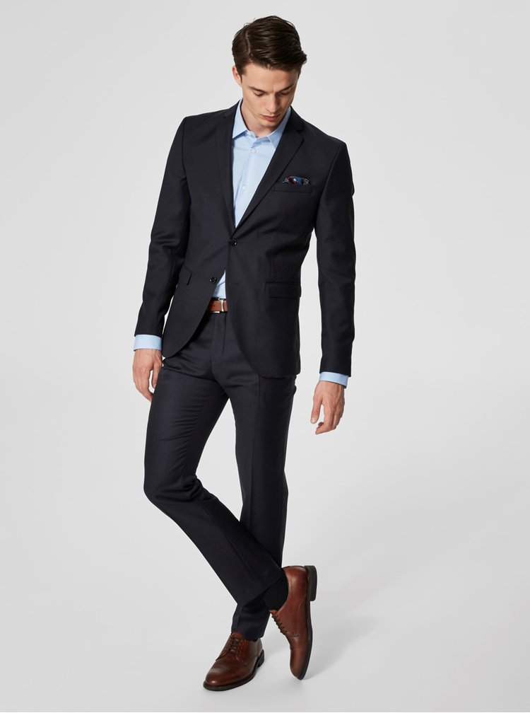 Camasa albastru deschis formala slim fit Selected Homme Preston