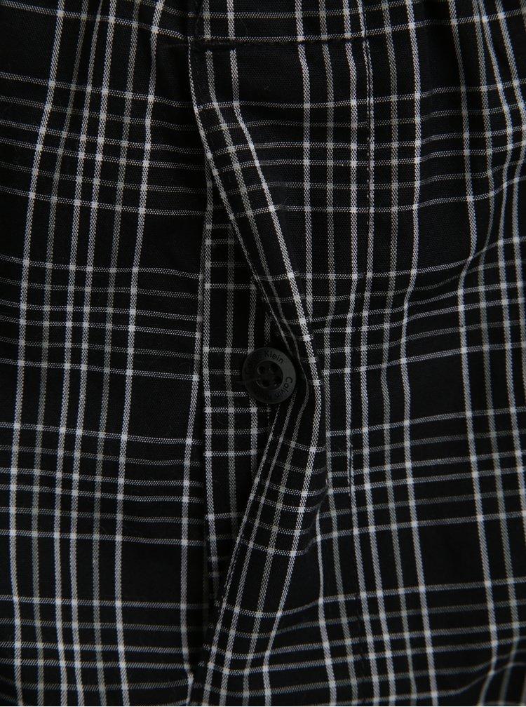 Sada dvou černých vzorovaných classic fit trenýrek Calvin Klein Underwear