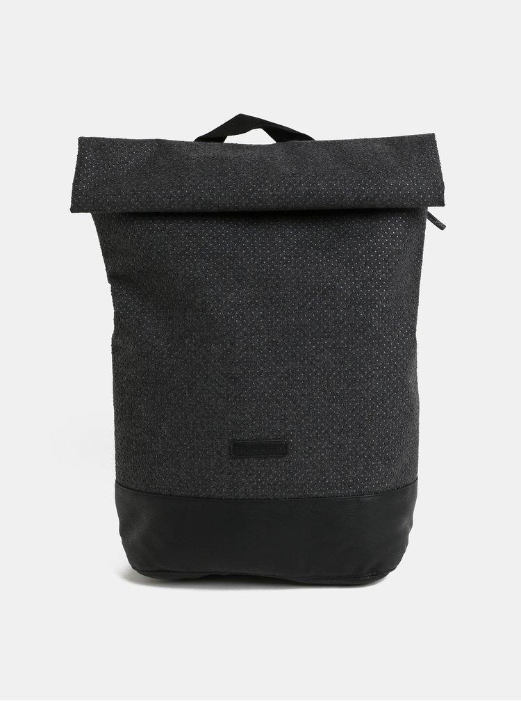 Tmavě šedý vlněný voděodolný batoh UCON ACROBATICS Karlo 20 l