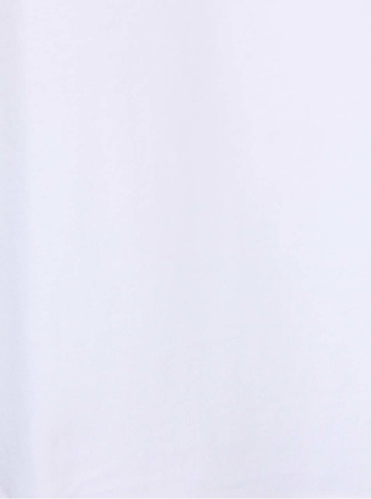 Bílé kratší boxerky s širokým pasem Calvin Klein Underwear